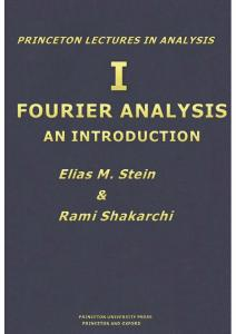 Fourier Analysis - An Introduction