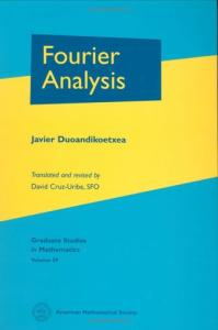 Fourier Analysis (Graduate Studies in Mathematics)