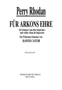 Für Arkons Ehre