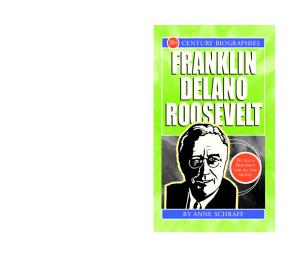 Franklin Delano Roosevelt (20th Century Biographies)