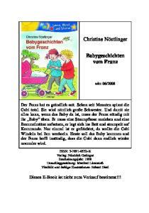 Franz Babygeschichten vom Franz