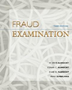 Fraud Examination, 3rd Edition