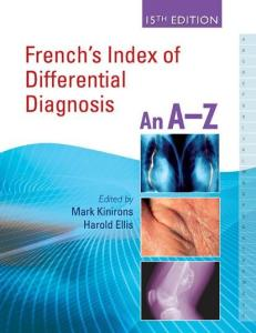 French's Index of Differential Diagnosis, 15th Edition
