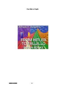 From Hitler to Trujillo