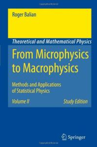 From microphysics to macrophysics,