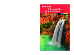Frommer's Arizona and the Grand Canyon 2012 (Frommer's Color Complete)
