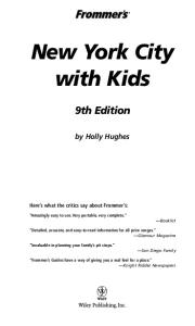 Frommer's New York City with Kids  (2005) (Frommer's With Kids)