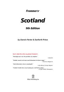 Frommer's Scotland (2005) (Frommer's Complete)