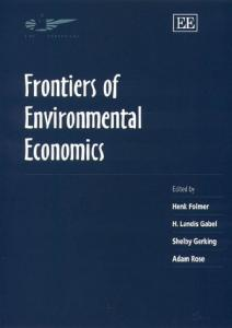 Frontiers of Environmental Economics (In Association with the Association of European Universities)