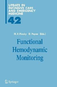 Functional Hemodynamic Monitoring (Update in Intensive Care and Emergency Medicine)