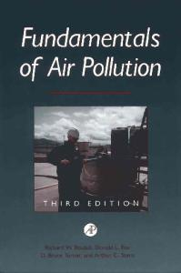 Fundamentals of Air Pollution, Third Edition