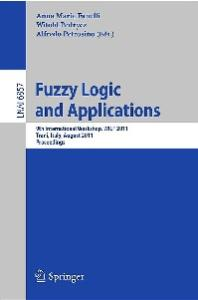Fuzzy Logic and Applications - Wilf 2011