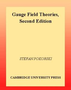 Gauge Field Theories 2nd Edition (Cambridge Monographs on Mathematical Physics)