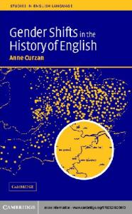 Gender Shifts in the History of English (Studies in English Language)