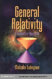 General Relativity - a geometric approach
