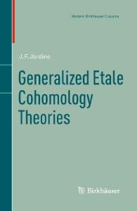 Generalized etale cohomology theories