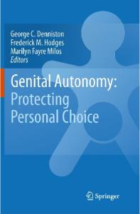 Genital Autonomy:: Protecting Personal Choice