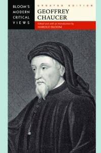 Geoffrey Chaucer (Bloom's Modern Critical Views), Updated Edition