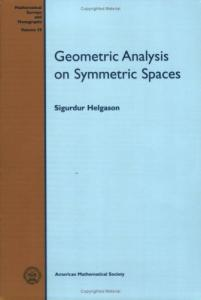 Geometric Analysis on Symmetric Spaces