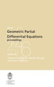 Geometric Partial Differential Equations