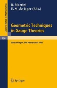 Geometric Techniques in Gauge Theories