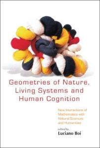 Geometries of nature, living systems and human cognition