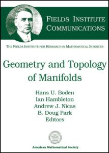 Geometry and Topology of Manifolds (Fields Institute Communications)