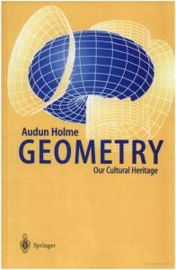 Geometry: Our Cultural Heritage