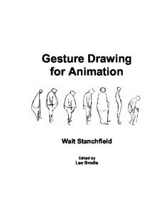 Gesture Drawing for Animation