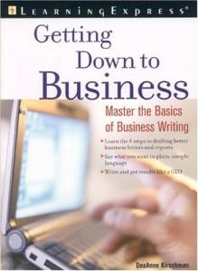 Getting down to business: successful writing at work