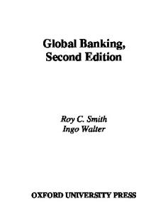 Global Banking (Economics & Finance)