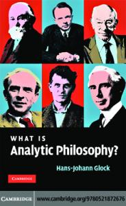 Glock - What is analytic philosophy
