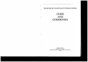 Gods and Goddesses (Museum of Anatolian Civilizations)