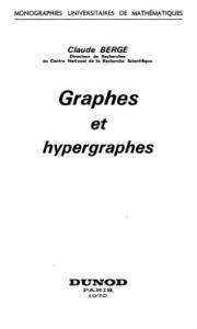 Graphes et hypergraphes
