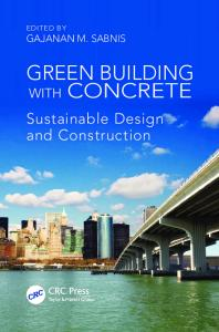 Green Building with Concrete: Sustainable Design and Construction