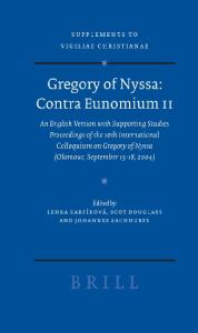 Gregory of Nyssa: Contra Eunomium II