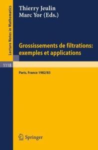 Grossissements de filtrations, exemples et applications(fr