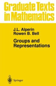 Groups and Representations (Graduate Texts in Mathematics)