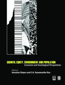 Growth, Equity, Environment and Population: Economic and Sociological Perspectives (Studies in Economic and Social Development)