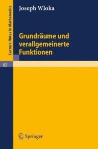 Grundraume und verallgemeinerte Funktionen