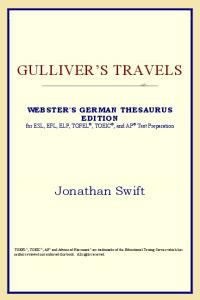 Gulliver's Travels (Webster's German Thesaurus Edition)