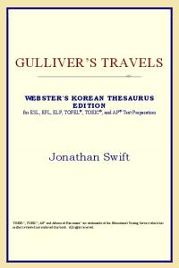 Gulliver's Travels (Webster's Korean Thesaurus Edition)