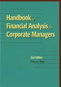 Handbook of Financial Analysis for Corporate Managers
