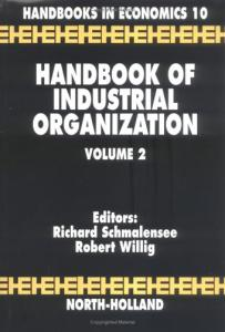 Handbook of industrial organization,