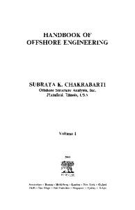 Handbook of Offshore Engineering vol1