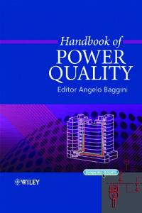 Handbook of Power Quality