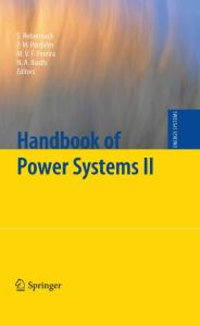 Handbook of Power Systems II (Energy Systems)