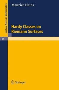 Hardy classes on Riemann surfaces