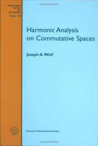 Harmonic Analysis on Commutative Spaces