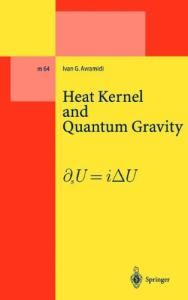 Heat Kernel and Quantum Gravity